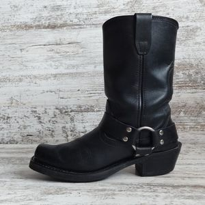 🔴Durango Leather Harness Moto Boot